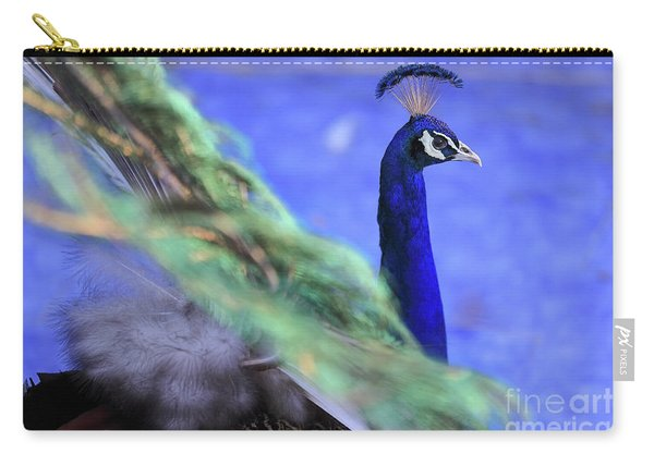 Dancing Peacock Carry-all Pouch