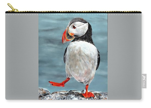 Dancing Puffin Carry-all Pouch