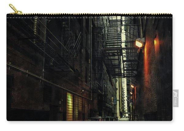 Dark Chicago Alley Carry-all Pouch