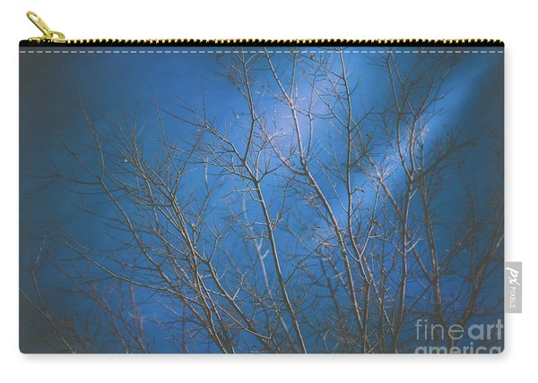 Carry-all Pouch featuring the photograph Dark Winter by Dheeraj Mutha