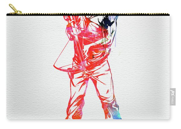 Daryl Dixon Watercolor Carry-all Pouch