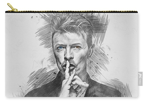 David Bowie. Carry-all Pouch