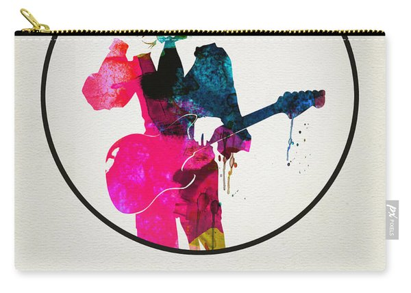 David Bowie Watercolor Carry-all Pouch