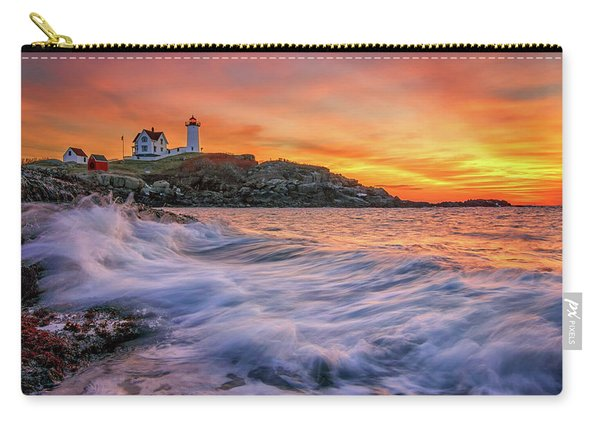 Dawn At Cape Neddick Lighthouse Carry-all Pouch