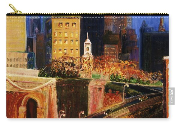 Dawn At City Hall Carry-all Pouch