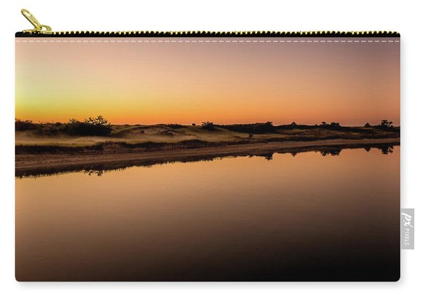 Carry-all Pouch featuring the photograph Dawn Light, Ogunquit River by Jeff Sinon