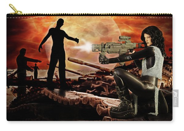 Dawn Of The Dead Carry-all Pouch