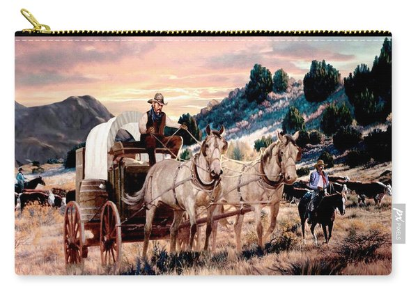 Dawn's Early Drive 2 Carry-all Pouch