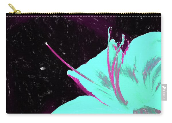 Day Lily Dual Tone  Carry-all Pouch
