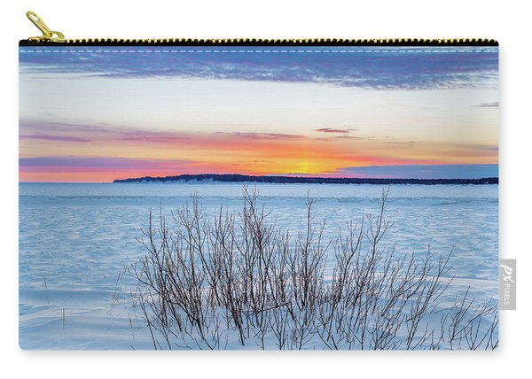 Daybreak Over East Bay Carry-all Pouch
