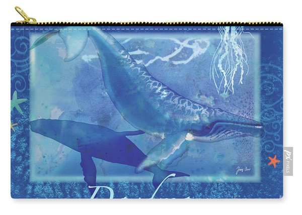Daydream Whales Carry-all Pouch