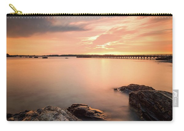 Carry-all Pouch featuring the photograph Days End Daydream  by Jeff Sinon