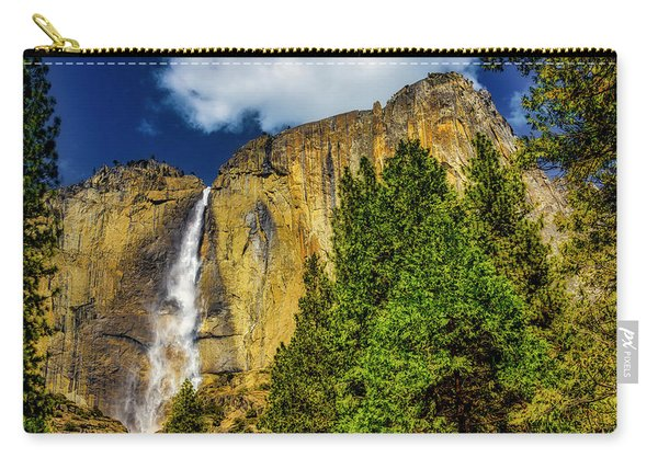 Dazzling Yosemite Falls Carry-all Pouch