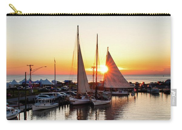 Deal Island Sunset  Carry-all Pouch