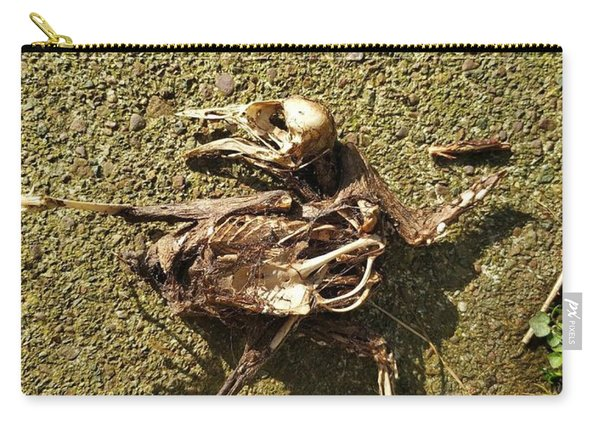 Death Shows Us We Are Nothing But Bones Carry-all Pouch
