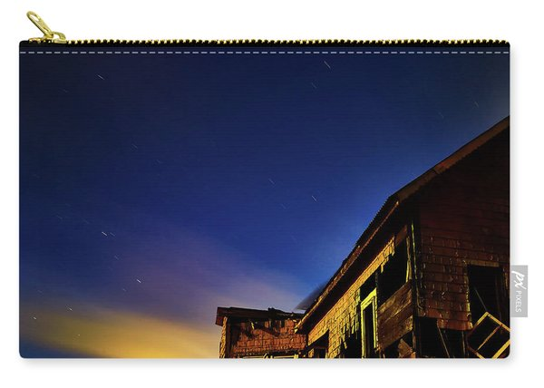 Decaying House In The Moonlight Carry-all Pouch