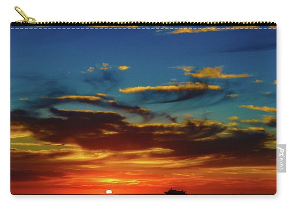 December 17 Sunset Carry-all Pouch