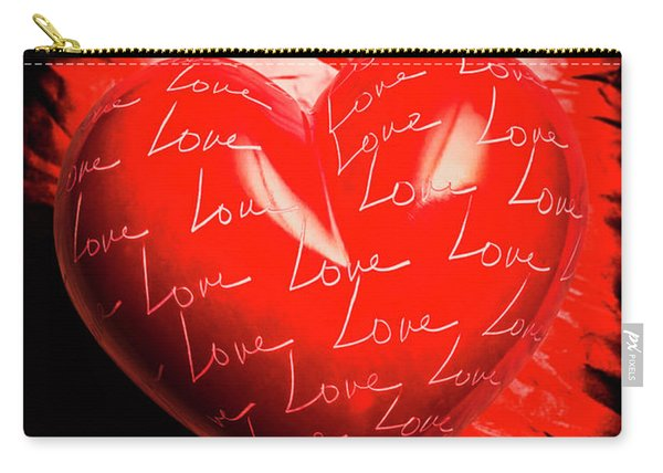 Decorated Romance Carry-all Pouch