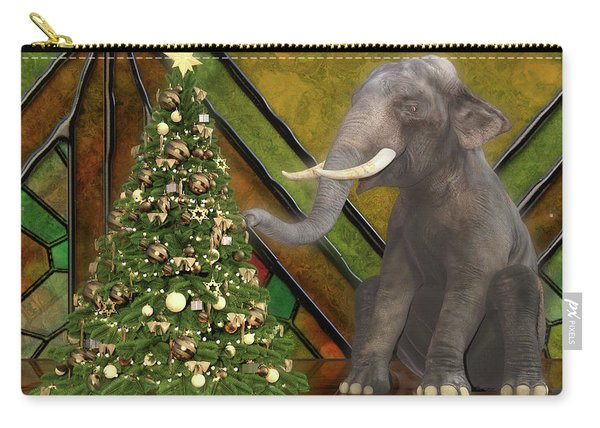Decorating The Perfect Tree Carry-all Pouch
