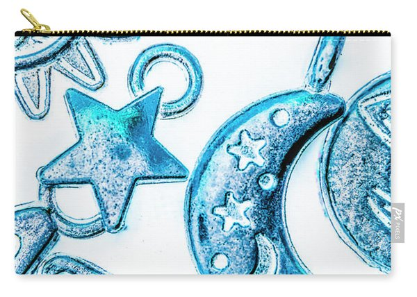 Deep Blue Space Carry-all Pouch