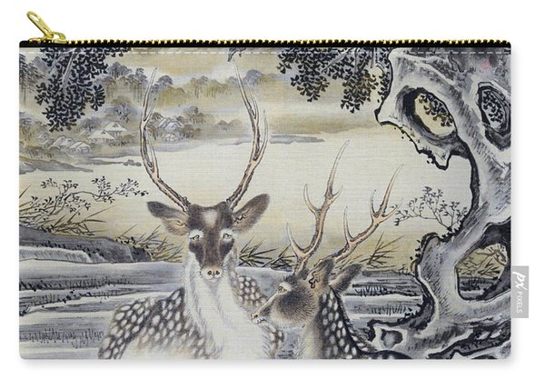 Deer And Monkeys - Digital Remastered Edition Carry-all Pouch