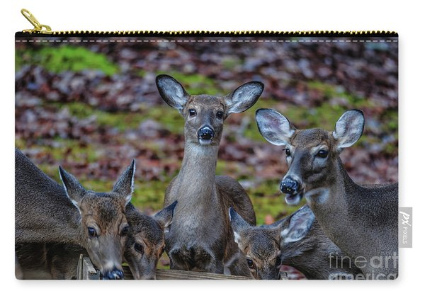 Deer Gathering Carry-all Pouch