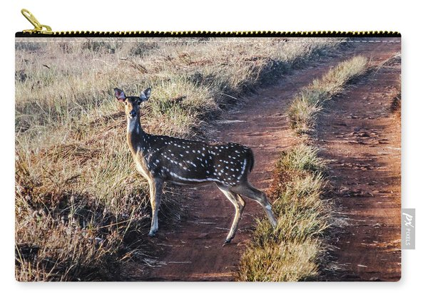 Deer Posing Carry-all Pouch