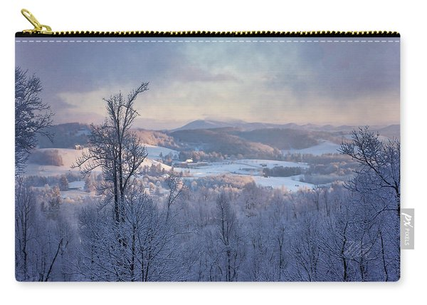 Deer Valley Winter View Carry-all Pouch
