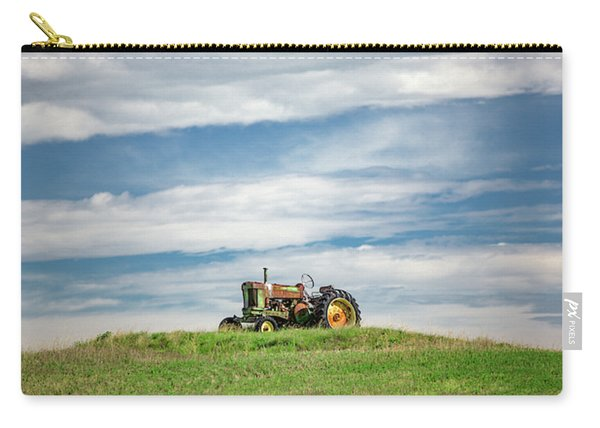 Deere On The Hill Carry-all Pouch