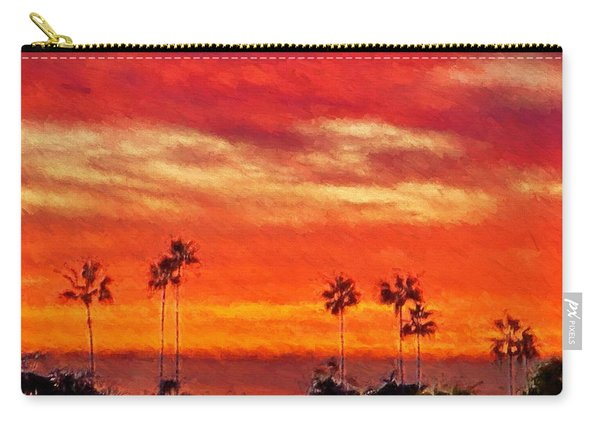 Del Mar Sunset Carry-all Pouch