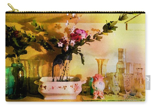 Delicate Flowers Carry-all Pouch