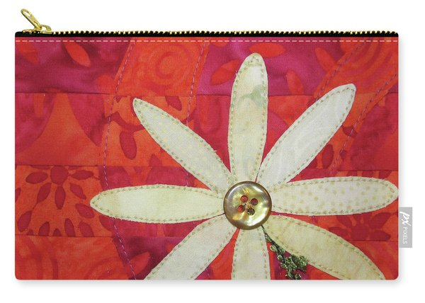 Delightful Daisy Carry-all Pouch