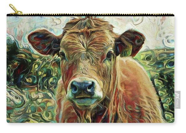 Delilah The Calf Carry-all Pouch