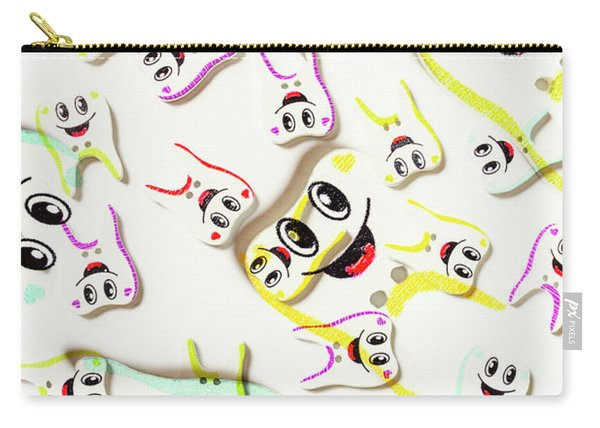 Dental Clinic Caricatures Carry-all Pouch