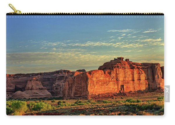 Desert Sunrise In Color Carry-all Pouch
