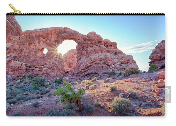 Desert Sunset Arches National Park Carry-all Pouch
