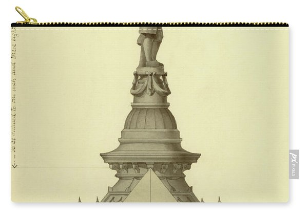 Design For City Hall Tower Carry-all Pouch