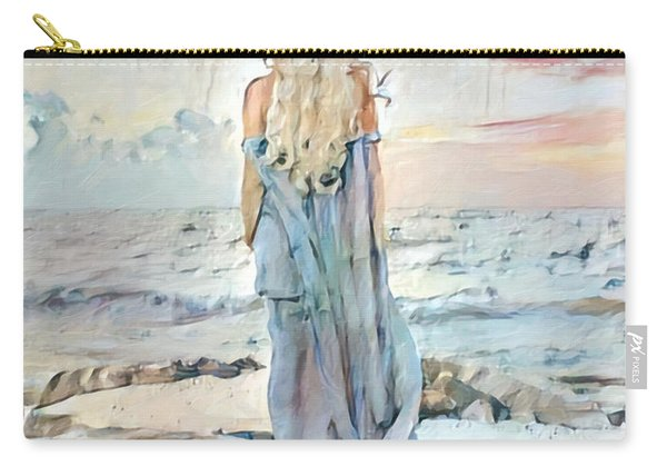 Desolate Or Contemplative Carry-all Pouch