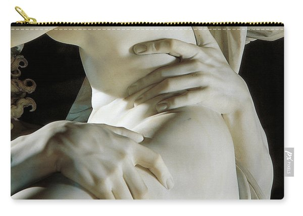 Detail Of The Abduction Of Proserpine, Marble Carry-all Pouch