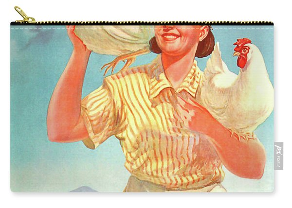 Develop Your Chicken Farm Carry-all Pouch