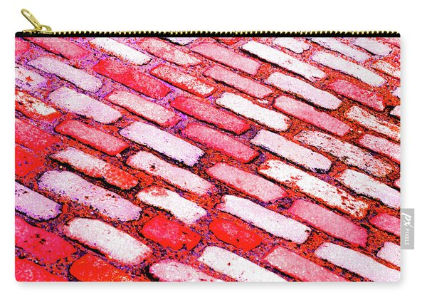 Diagonal Street Cobbles Carry-all Pouch