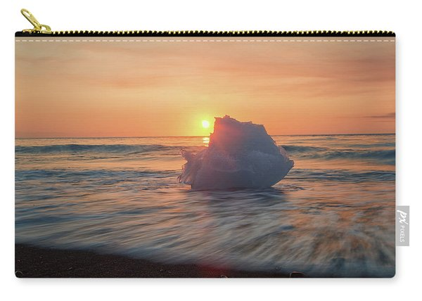 Diamond Beach Sunrise Iceland Carry-all Pouch