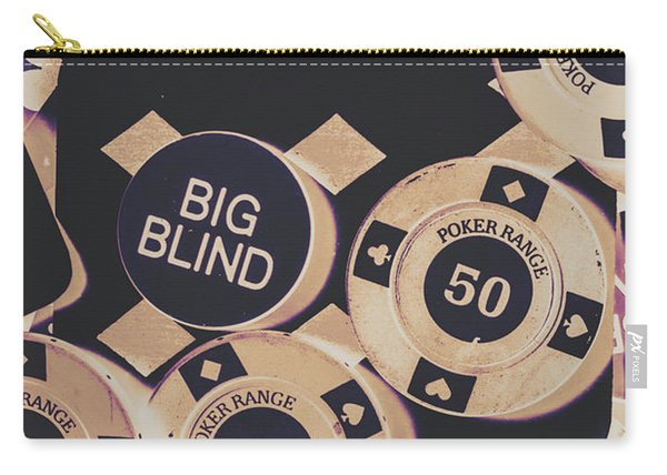 Diamond Odds Carry-all Pouch