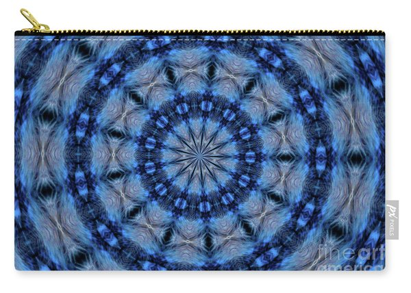 Blue Jay Mandala Carry-all Pouch