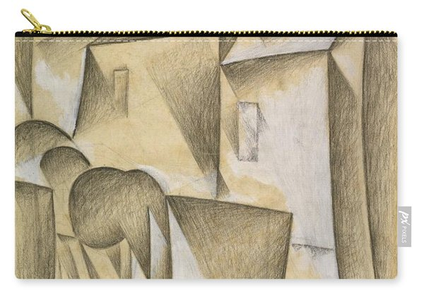 Digital Remastered Edition - Houses In Paris, Place Ravignan Carry-all Pouch