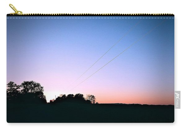 Disappearing Lines Carry-all Pouch