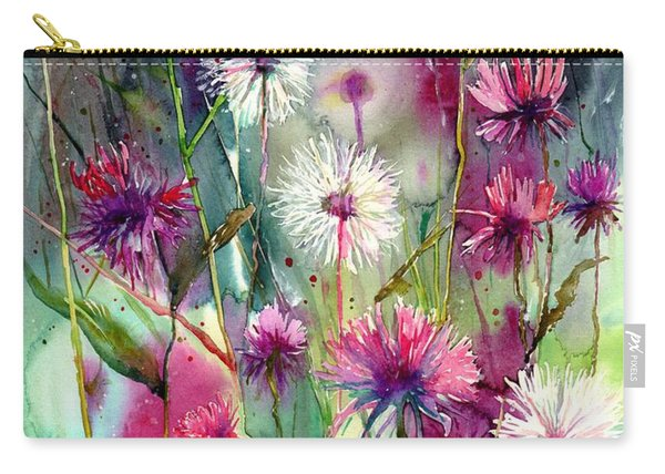 Disco Thistles Carry-all Pouch