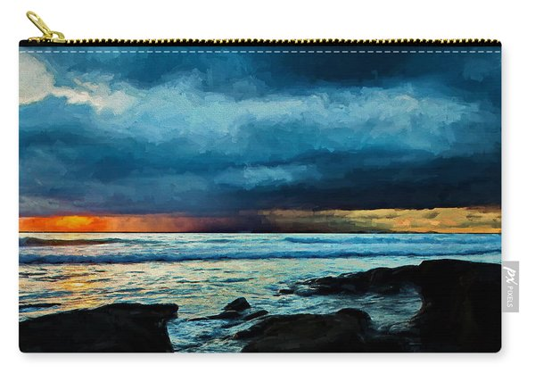 Distant Rain Clouds Carry-all Pouch