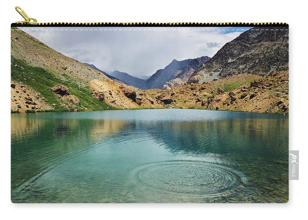 Carry-all Pouch featuring the photograph Distant Rains by Whitney Goodey