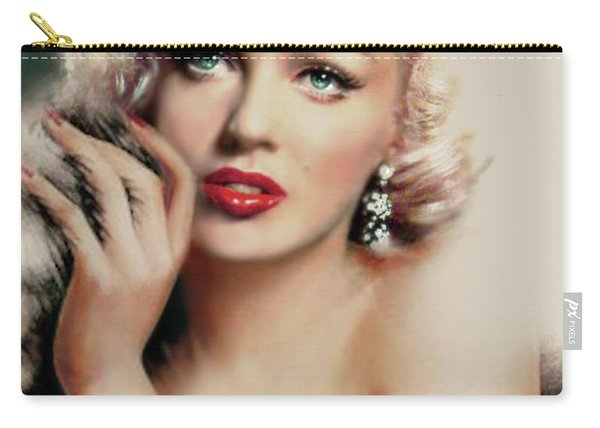 Diva Mm 169 Rose Carry-all Pouch
